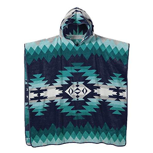 Pendleton Jacquard Adult Hooded Towel, Papago Park Turquoise