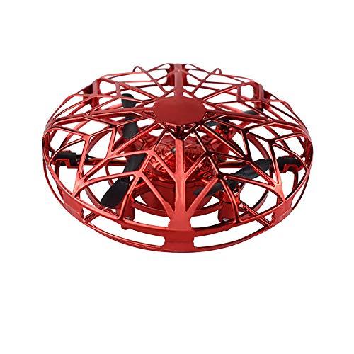 Balight Drones operados a Mano niños o Adultos, Mini Drone Flying Ball Toy, Scoot UFO Hand Free Infrared Sensing Drone Toys para niños y niñas cumpleaños