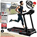 Sportstech F31 Professional Treadmill With Smartphone App Control MP3 AUX Bluetooth 4PS 16km/h - With...