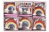 Schnooridoo 12 Radiergummi Regenbogen Rainbow Mitbringsel
