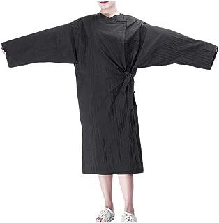 Hair Salon Cape SPA Kimono Bath Robe Barber Bibs Hair Cutting Apron-A11