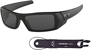 Gascan OO9014 Sunglasses+BUNDLE with Oakley Leash+Designer iWear Mirror