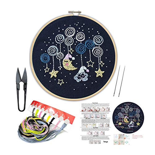 Handmade Embroidery Kit Set with...