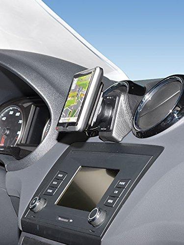 KUDA 6025 Halterung Kunstleder schwarz für Seat Ibiza (6J/6P) ab 2015 bis 2017 (Facelift)