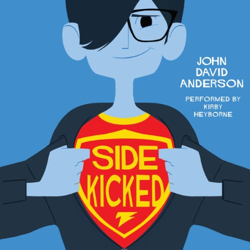 Sidekicked audiobook cover art