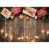 Fondo de fotografía de Tema de Navidad de Vinilo Retrato de niños Fondo de Navidad Accesorios de fotografía de Estudio A14 10x10ft / 3x3m