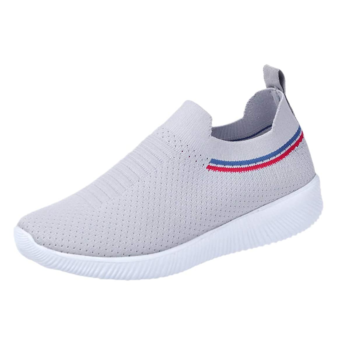 Women's Fashion Sneakers Breathable Mesh Casual Sport Shoes Comfortable Walking Shoes