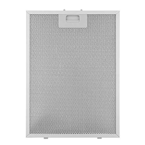 Klarstein filtro de grasa para extractor de humos, 28 x 38 cm, filtro de recambio, accesorio, aluminio