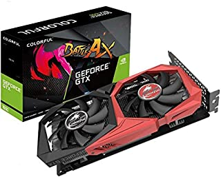 متجر بطاقات الرسومات من DASEEN GTX1650 GTX1660S RTX2060 RTX2070S RTX2080S (GTX1650 4G Colorful GeForce Battle Ax)