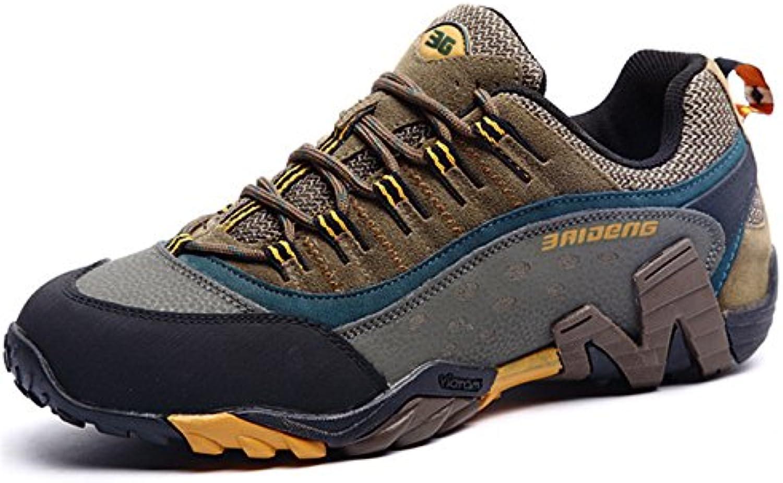 Storlek 36 -45 Brand utomhus Sport skor män skor män män män skor springaning skor for män läder Non -Slip Off -Road gående Trainers V17  100% äkta motgaranti