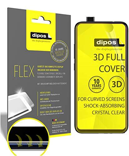 dipos I 2X Schutzfolie 100prozent passend für Xiaomi Mi 9T Pro Folie I 3D Full Cover Bildschirmschutzfolie