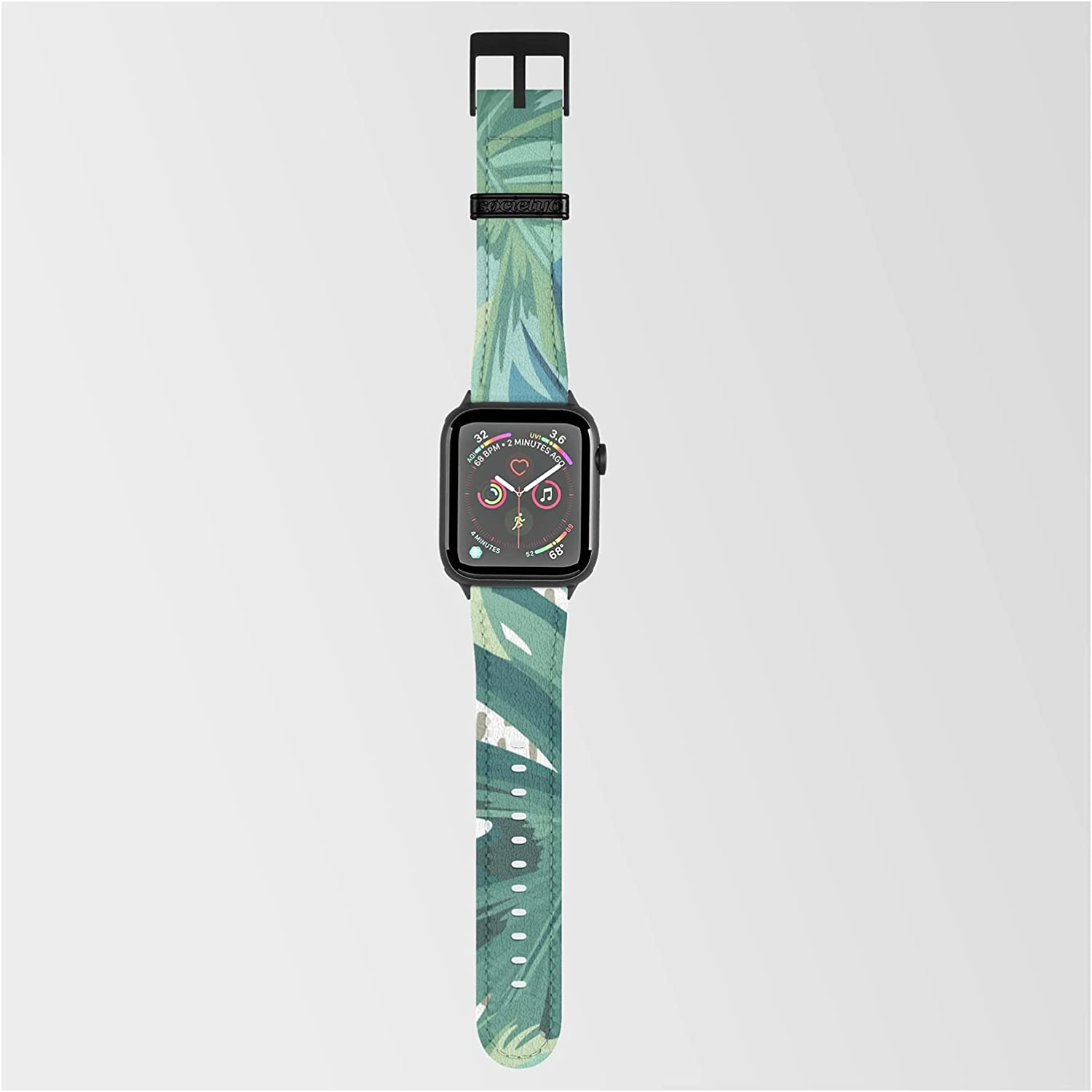 Sale special price Tropical Palms Green and Blue Abstract Megan Morris on Smar by unisex
