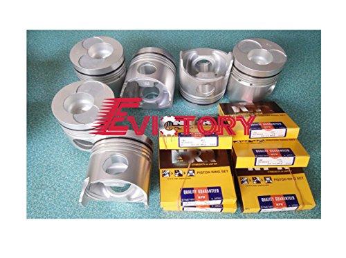 Pour Hino H06 C H06ct Engine Piston Rebuild kit + Bague Liner Joint Roulement