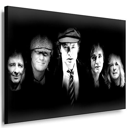 Boikal Wandbild Ac/dc Leinwand Bild fertig geramt! Kunstdrucke, Leinwandbilder ACDC (40 x 30 cm)