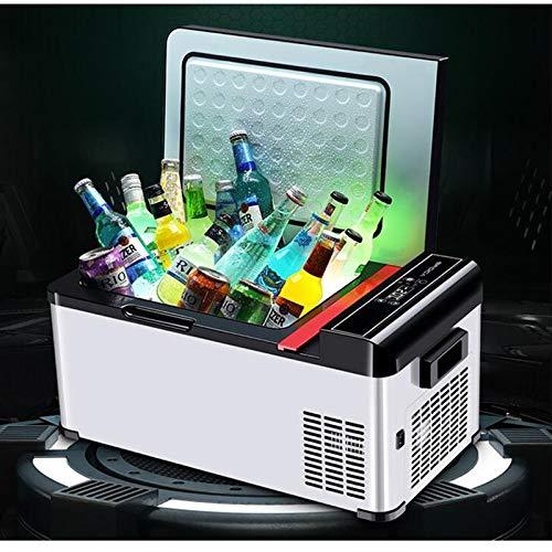 GNLIAN HUAHUA refrigerador 12V / 24V Coche Mini refrigerador refrigerador Compresor Refrigeración...