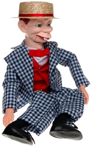 "30"" Mortimer Snerd Ventriloquist Doll with Tote Bag and Instruction Booklet"
