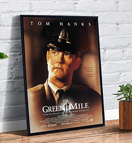 Quadro decorativo Poster A Espera de Um Milagre Filme Capa