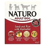 Naturo Adult Lamb And Rice Vegetable Dog Food Tray 400G