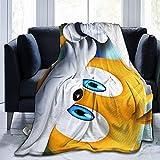 Manta sherpa de franela súper suave adecuada para invierno verano, so-nic The He-dgehog T-ails Se-ga de 152 x 127 cm, manta de gran tamaño para sofá cama