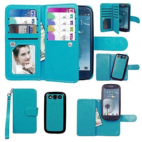 online store 31d82 53bf9 Samsung Galaxy S3 Wallet Case: Amazon.com