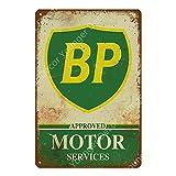 LCCNE Wanddekoration Vintage Garage Dekoration Motor Öl