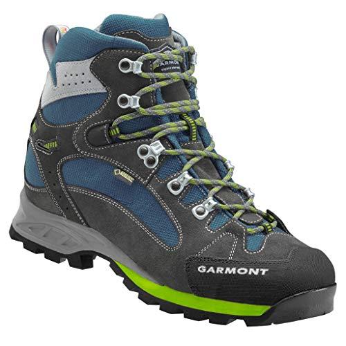 GARMONT RAMBLER GTX Trekkingschuhe anthrazit / blau goretex Outdoor-Sportschuhe