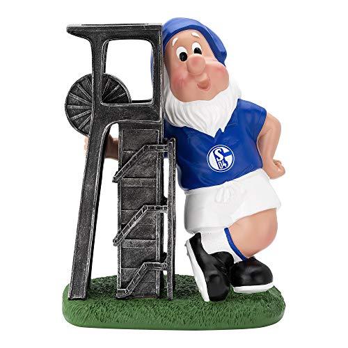FC Schalke 04 Gartenzwerg Förderturm