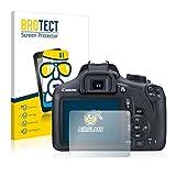 BROTECT Protector Pantalla Cristal Compatible con Canon EOS 1300D Protector Pantalla Vidrio - Dureza Extrema, Anti-Huellas, AirGlass