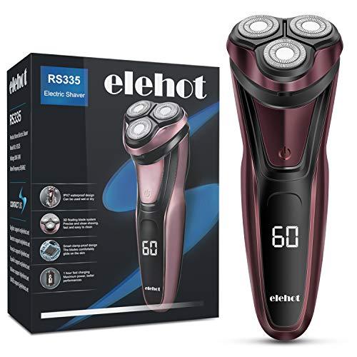 Afeitadora eléctrica con cabezales rotatorios ELEHOT RS335