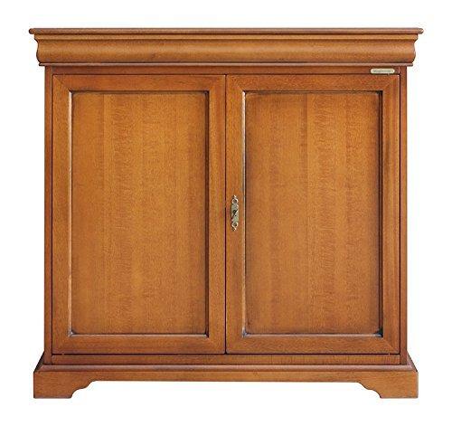 Mobile Credenza Luigi Filippo in legno 2 porte per soggiorno