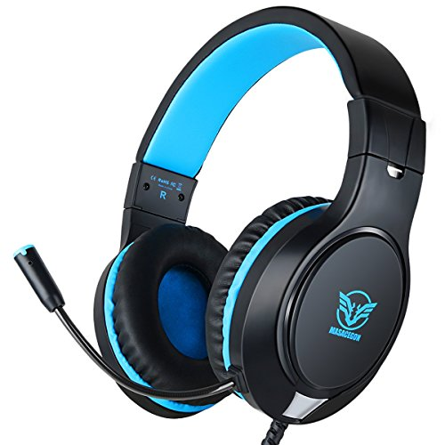 Gaming Headset for Xbox One, PS4,Nintendo Switch, Bass Surround and Noise Cancelling with...