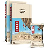 CLIF BAR Coffee Collection - Energy Bars - Vanilla Almond Latte (2.4 Ounce Breakfast Bars, 24 Count)