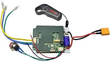 Hobbysky 24V/36V Single/Upgrade Dual Motor Drive ESC for Brushless Belt Motor & Wireless 2.4G Remote Control Transmitter for Electric Skateboard Longboard Scooter DIY Skateboard