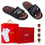 Best Acupressure Sandals - Reflexology Massage Sandals with Jade Stones and Tourmalines Review