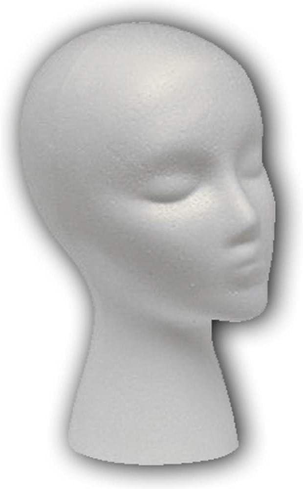 Headform Overseas parallel import regular item Free shipping / New Styrofoam