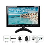 10.1 Pulgadas LCD Monitor, 1024x600 HDMI Pantalla  con...