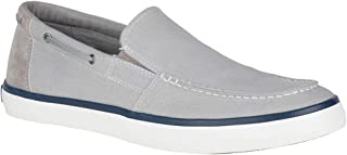 sperry mens canvas slip on shoes