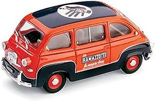 COLLEZIONI Giocher GR05 FIAT 600 Multipla 1959 Soccorso Modellino 1:43 DIE CAST Model kompatibel mit