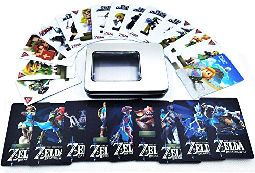 24Pcs The Legend of Zelda Breath of The Wild NFC Cards, [Newest Version]...