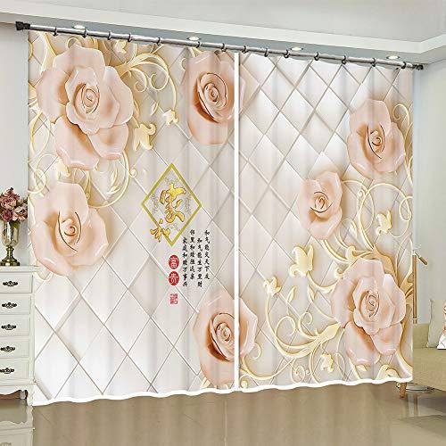 cortinas habitacion doble