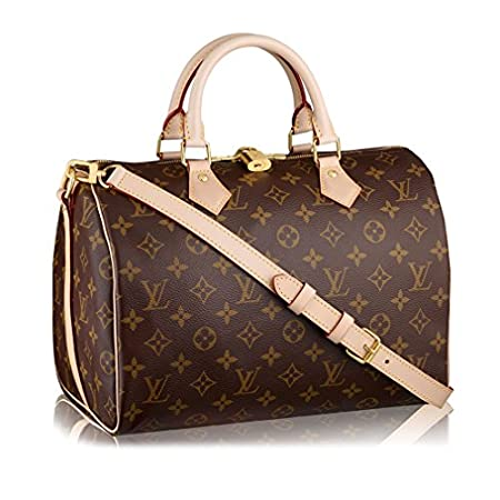 Fashion Shopping Louis Vuitton Monogram Canvas Speedy Bandouliere 30 Article:M41112 Made in France