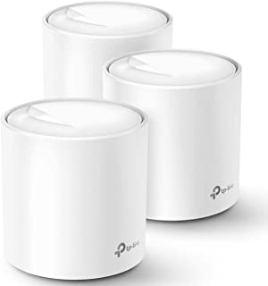 TP-Link Deco X60 WiFi 6 AX3000-3 Pack - Sistema Wi-Fi de malla para todo el hogar (renovado)