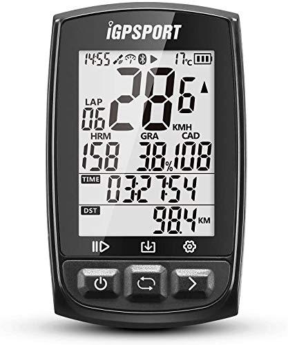 Ciclocomputer GPS con ANT+ Funzione iGPSPORT iGS50E Ciclocomputer bici senza fili Wireless (Bianco)