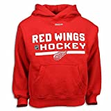 Detroit Red Wings子/Youth Basic Authentic Hoody レッド