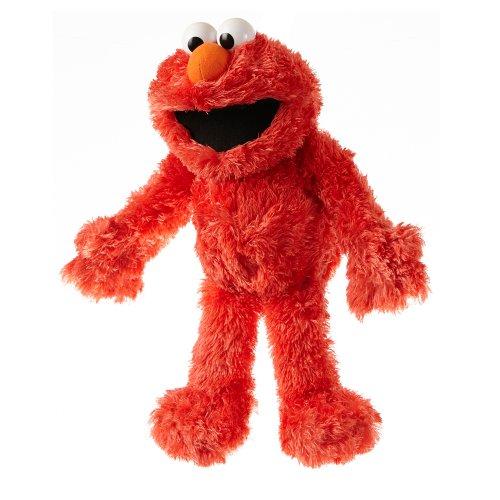 Living Puppets S707 Elmo Handpuppe, Rot