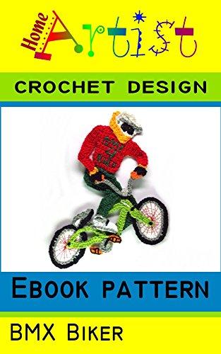 BMX Crochet Applique Pattern (English Edition)