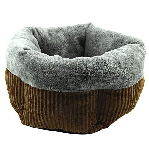 ZYUEER nicho de Gato, Peluche Pastel Caliente cojín colchón para Animales Cesta sofá Cama Robuste Mignon para Perro pequeño Cachorro Gato Pet Bed Size: 55x 25cm