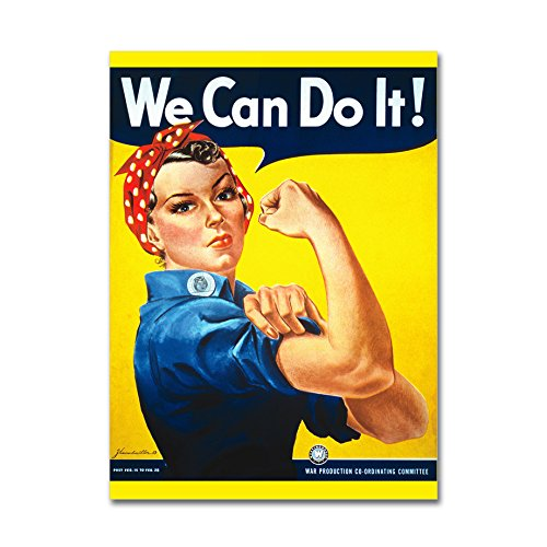 LaMAGLIERIA J. Howard Miller - Rosie The Riveter We