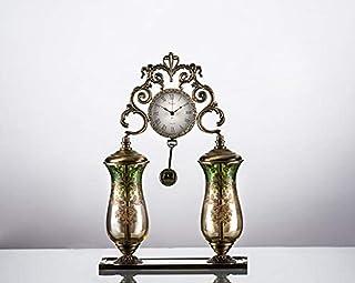 Porio - Porio Bronce Verde Reloj ámbar 42x29cm