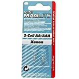 Maglite Replacement Lamps for 2-Cell AA Mini Flashlight, 2-Pack